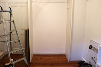 Built in Wardrobe Makeover Project