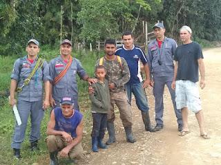 Encontrado: Kelvis Ruan Costa  que estava desaparecido em Sete Barras