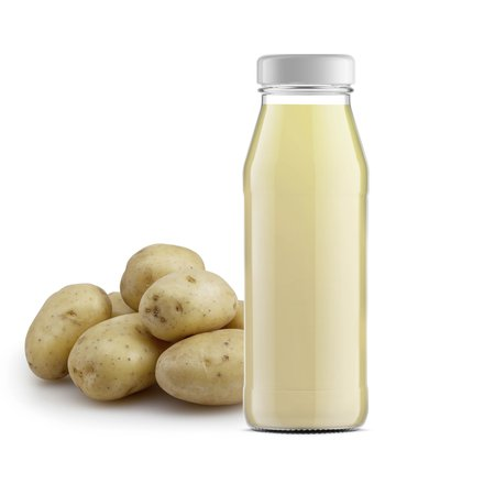 What are the benefits of potato juice for skin