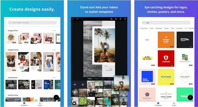 Canva - Aplikasi Membuat Logo Terbaik di Android
