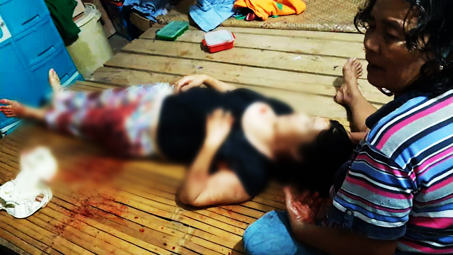 An overseas Filipino worker who had just arrived from Malaysia last August 5 was stabbed to death by her own husband inside their house in Zamboanga Del Sur.       Ads  The OFW was washing their clothes when the argument between the couple heated after the wife questioned the husband about the latter's debts, according to the witnesses.      In the middle of the discussion, the husband grabbed a knife and ruthlessly stabbed his wife until she was lifeless.  Ads      Sponsored Links          Photos of the overseas Filipina worker killed by her own husband have been released by PNP Tabina, Zamboanga del Sur.  The victim identified as Emily Lariosa, 34, was declared dead on arrival at the hospital.  Parricide charges will be pressed on the suspect and the husband of the OFW, Erwin Cape Lariosa, 33.    The initial investigation of the authorities revealed that the couple's confrontation happened while the victim was washing their clothes.