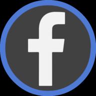 facebook icon outline