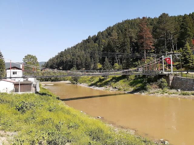 Devrekani Çayı üzerine kurulmuş Azdavay Aşıklar Köprüsü | Azdavay, Kastamonu