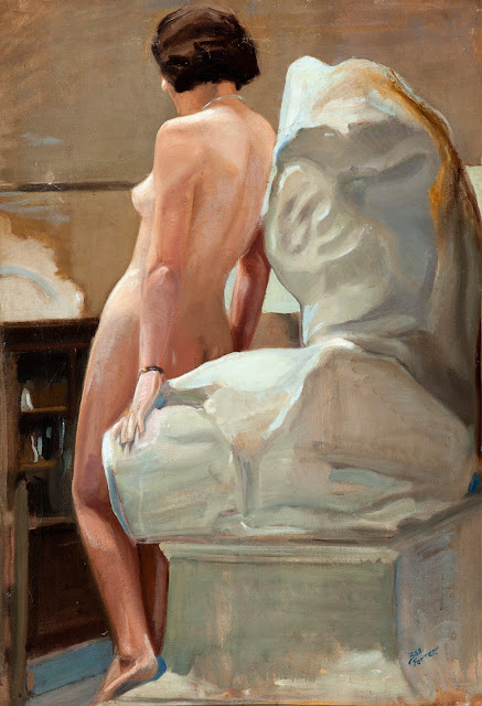 Luis Gonzaga Bas Ferrer, Artistic nude, The naked in the art,  Il nude in arte, Fine art