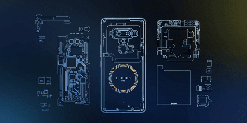 It is a smartphone designed for people who use cryptocurrency