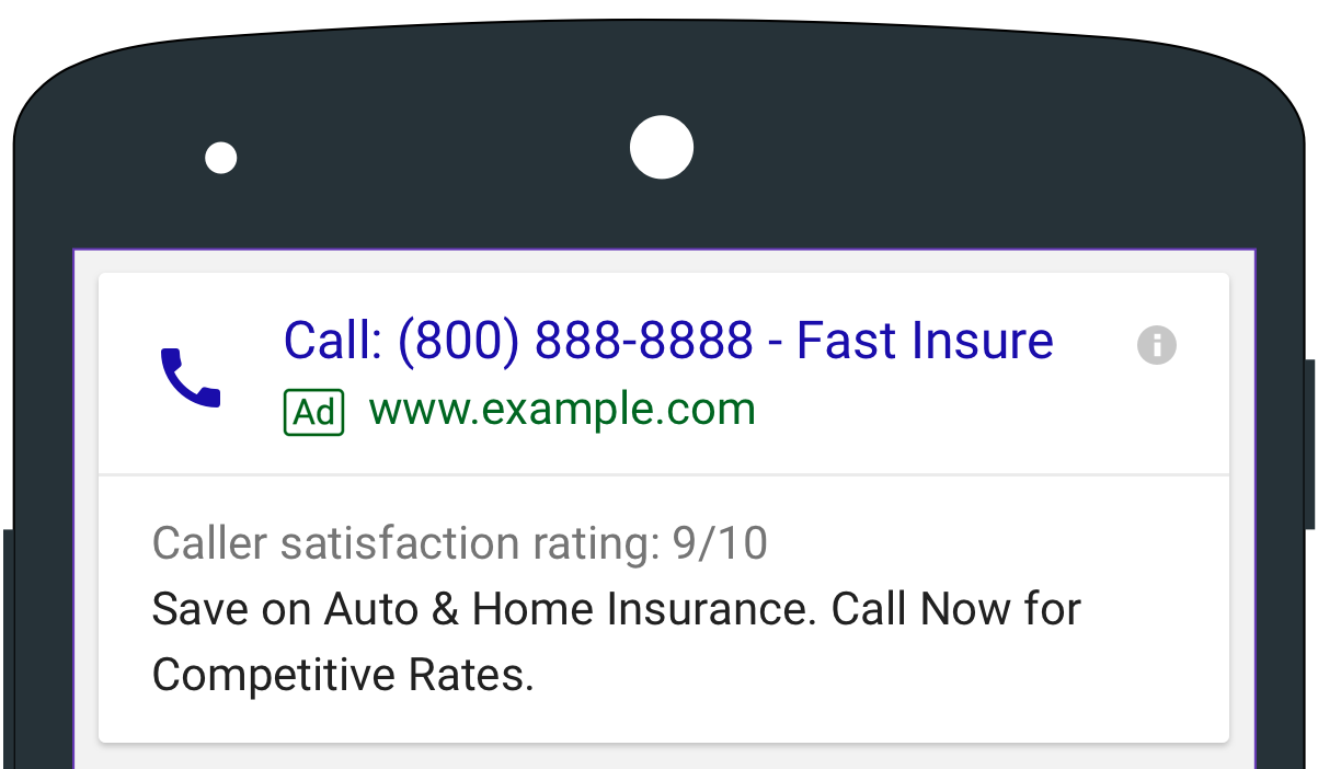 Google Click-To-Call Updates