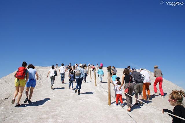 La salita alla Camelle, la duna di sale di Aigues Mortes
