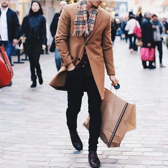 ミラロンドンスクラップbook メンズ コート キャメル色 ベージュ