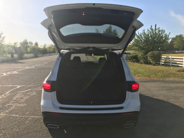 Tailgate open on 2020 Mercedes-Benz GLB 250 4MATIC