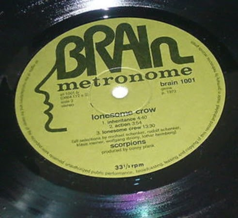 Scorpions - Lonesome Crow (1972) Brain 1001