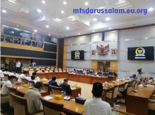 Komisi VIII DPR Bahas Anggaran 2021 Bersama Kementerian Agama