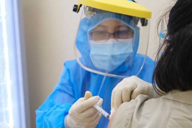 Hình ảnh tiêm ngừa vaccine