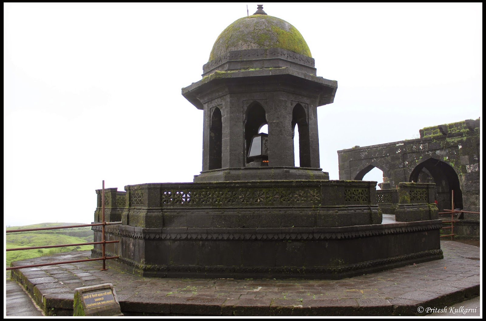 Shivaji Maharaj's samadhi (Memorial)
