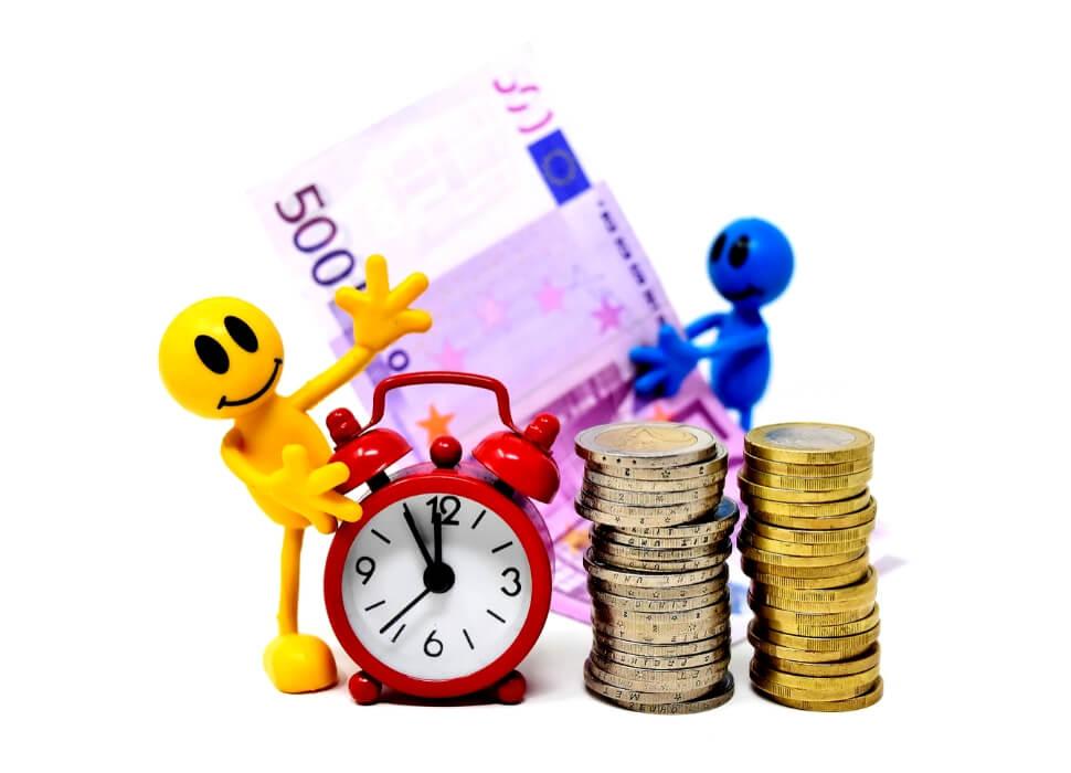 Geld is tijd - geld in de toekomst