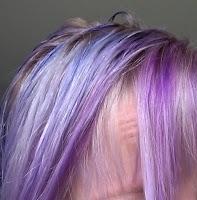 pravana violet sparks purple passion compare hair dye bleach blond