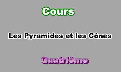 Cours Sur Les Pyramides et les Cônes 4eme en PDF