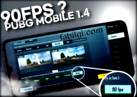 Pubg Mobile 1.4.0 Config 90 FPS Yapma Türkiyede İlk 2021