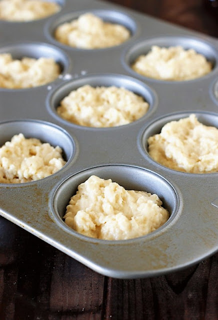 Buttermilk Jam Muffins Batter Image