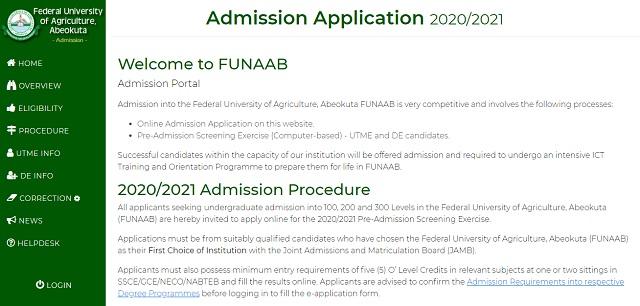 admission-funaab