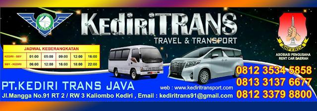 Jadwal Travel Kediri Surabaya