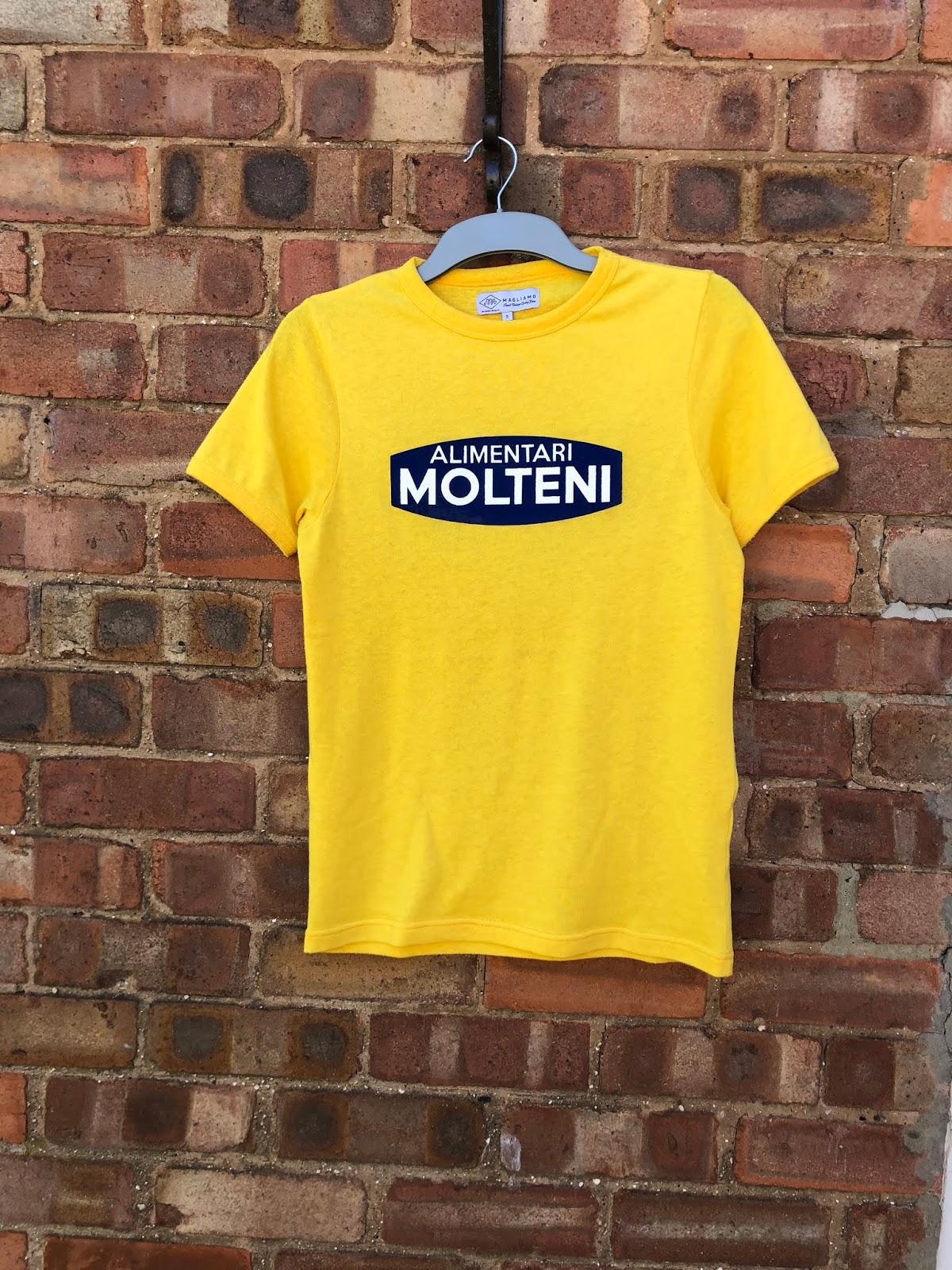 Magliamo Eddy Merckx Molteni Tour de France T-shirt - Move On Up Blog 3cbfc7eac