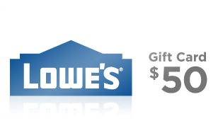 Lowes $50 Gift Card