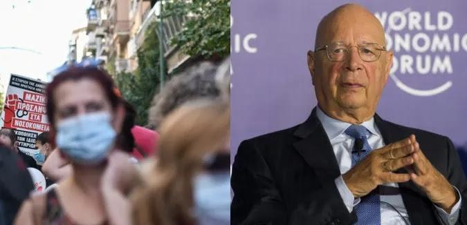 Klaus Schwab: Πρέπει να κάνουν όλοι το εμβόλιο – Συνδικαλιστές στην Ελλάδα συμφωνούν