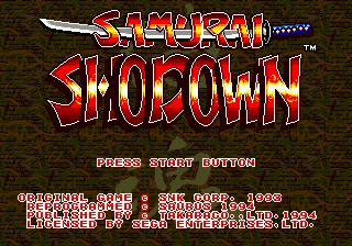 Samurai Shodown Online GEN