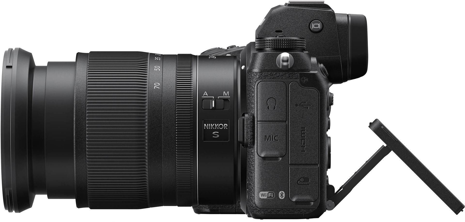 Nikon с откидным экраном