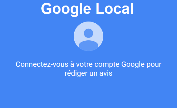 google local et maps acceptent 1 photo ou 1 vid o dans les avis locaux. Black Bedroom Furniture Sets. Home Design Ideas