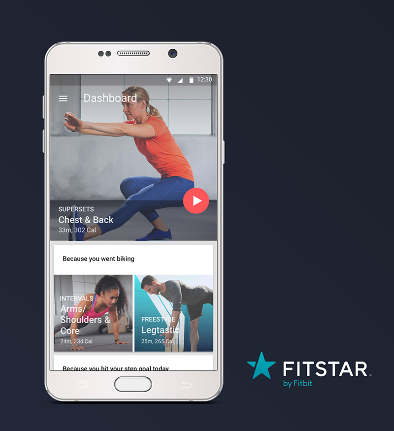 Fitstar by Fitbit on Android