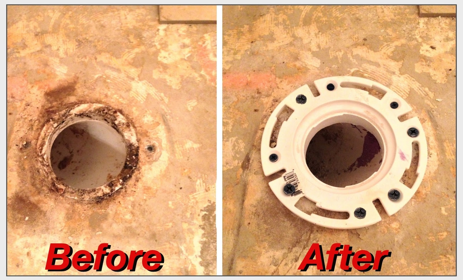 Hendersons Home Improvement Llc Bathroom Tile And Toilet Flange Repair