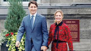 كندا تعلن إصابة زوجة رئيس الوزراء جاستن ترودو بفيروس كورونا