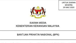 "Bakani chara minta enggau meresa status ""Bantuan Prihatin Nasional"" (BPN)?"