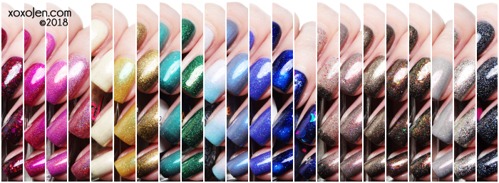 xoxoJen's swatches of Hella Handmade Creations: September Release