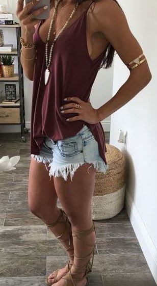 Cute Summer Outfit To Copy Right Now