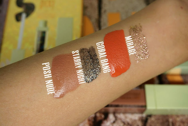 The day and night Lit Kits Pixi collaboration with Maryam Maquillage  review and swatches