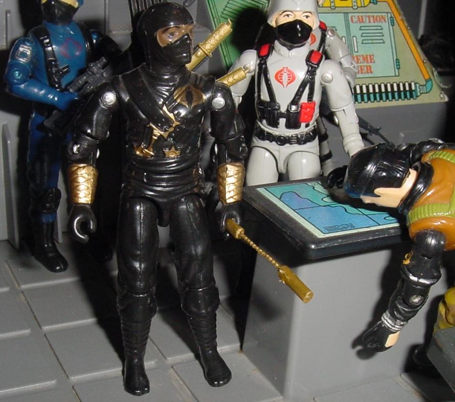 Ninja Ku, Argentina, Plastirama, Storm Shadow, Cobra Black Ninja, Rare G.I. Joe Figures, Stinger Driver, 1984, 1983 Cobra Trooper
