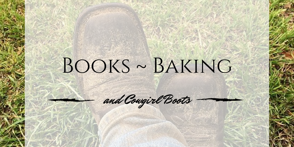 books baking and cowgirl boots fall