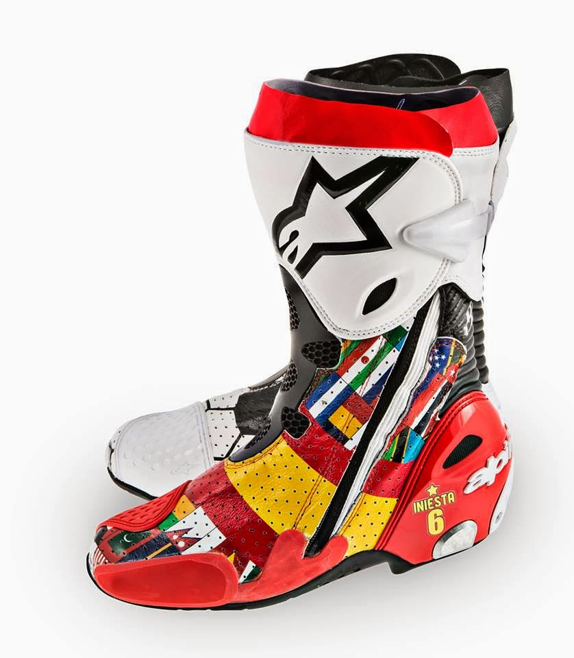 Racing Cafè: Alpinestars Supertech R Boots MotoGP Riders GP Barcellona 2014