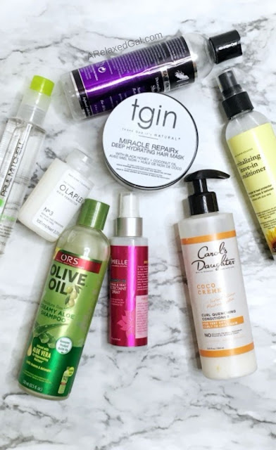 Trying a new post relaxer wash routine | A Relaxed Gal