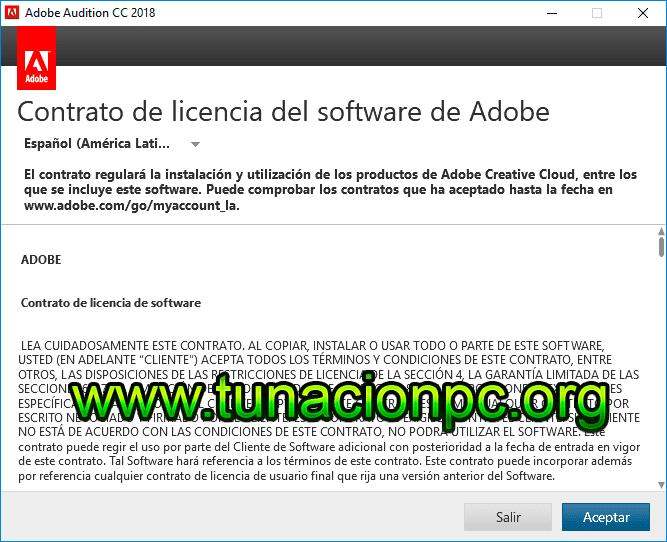 Adobe Audition CC 2018 Portable Imagen