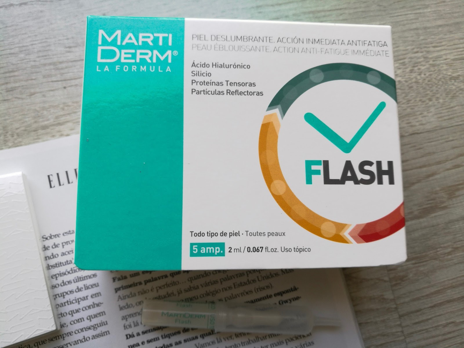 AMPOLAS FLASH MARTIDERM