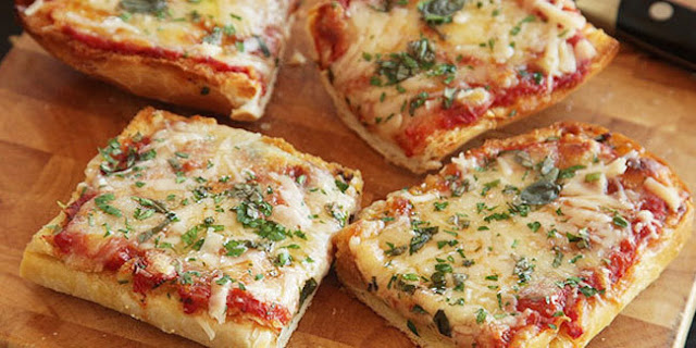 Resep Pizza Roti Tawar Teflon