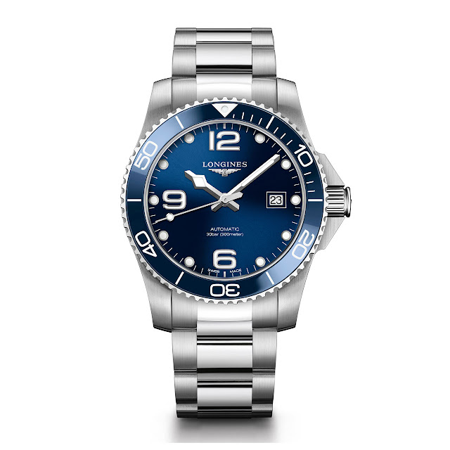 Longines HydroConquest Automatic Watch Blue