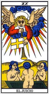 El Mundo- Arcano XX- Tarot de Marsella