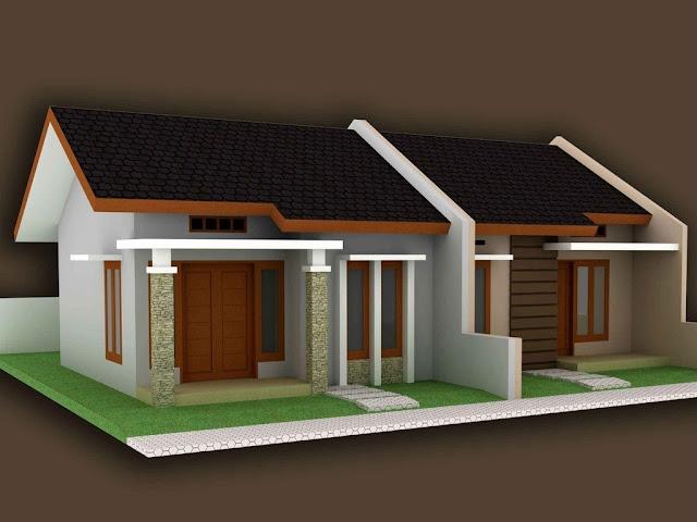 Desain Rumah Kontrakan Kopel