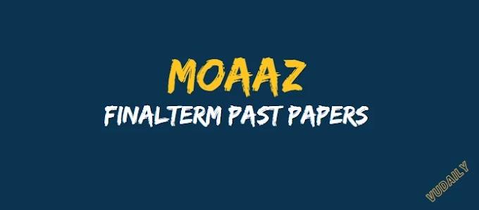 CS506 Moaaz Final term Past Papers
