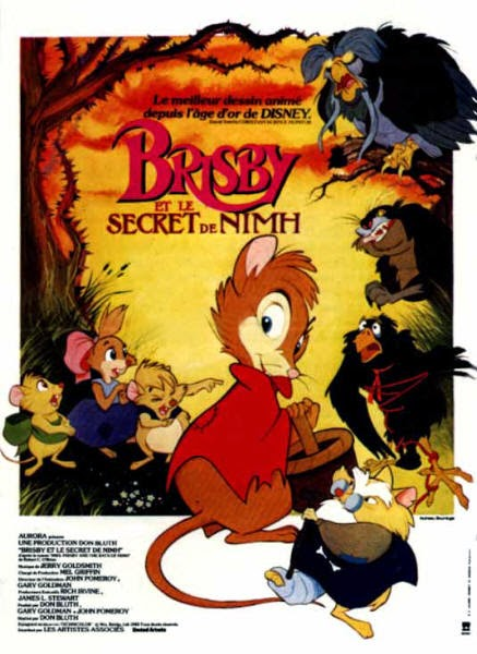 Brisby et le secret de Nimh, de Don Bluth (1982)