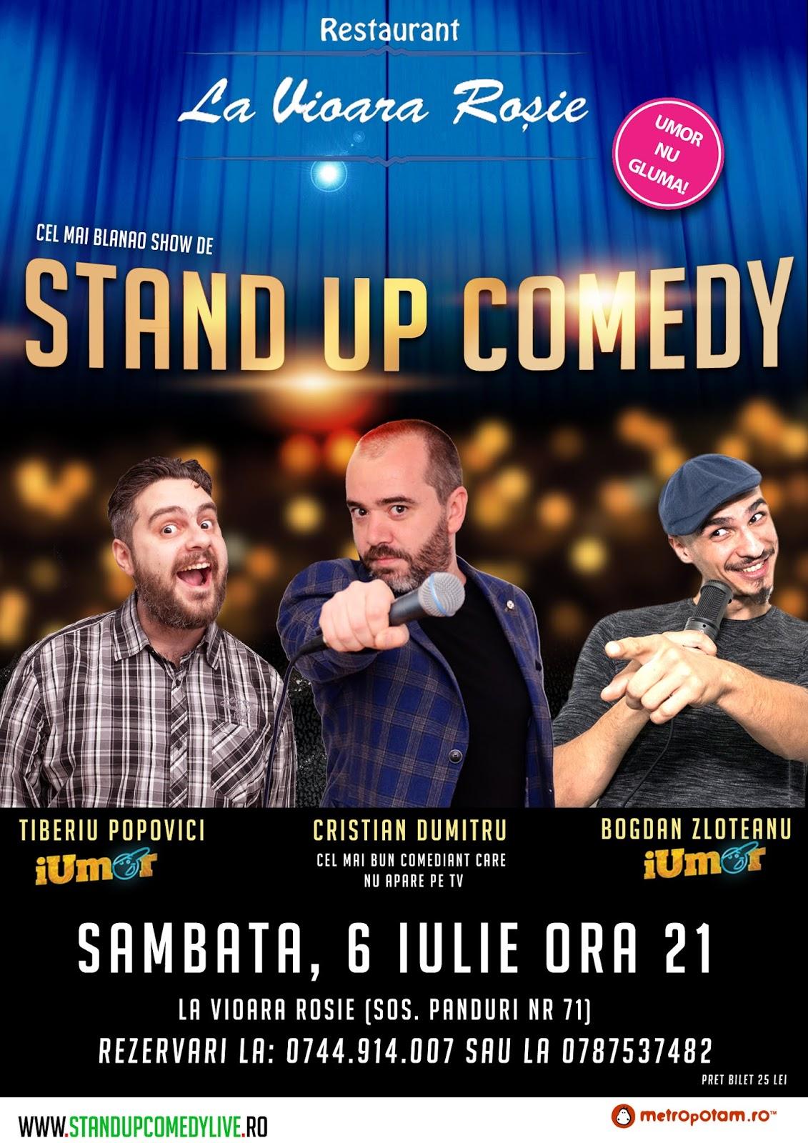 Stand-Up Comedy Romania Bucuresti